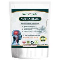 Nutrabrain a Nootropics Cognitive Enhancers Mental wellnes supplement Vegan caps
