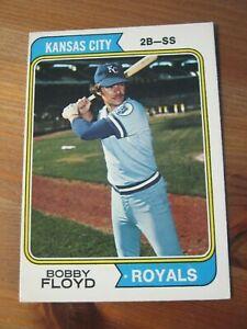 1974 OPC O PEE CHEE # 41 Bobby Floyd - Kansas City Royals                    ZB0