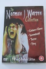 THE NORMAN J WARREN COLLECTION 5 DISC BOXSET (REGION 2 DVD)