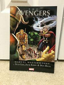 Marvel Masterworks The Avengers TPB Vol. 1 - MINT condition