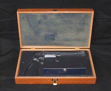 Smith & Wesson Wood Gun Box Case 357 Magnum Revolver