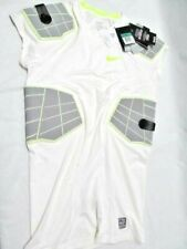 Nike Pro Hyperstrong 4-Pad Protective Football Shirt White 584396 101 Mens Xl