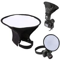 20cm Round Flash Softbox for Diffuser Speedlight Speedlite Photography Canon