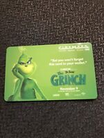 The Grinch Dr.Seuss Gift Card Collectible No Value 2019 Movie CHRISTMAS GREEN