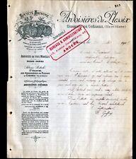 """ANGERS / LE PLESSIX prés de COESMES (49 / 35) ARDOISIERES """"F. GUFFROY Directeur"""""""