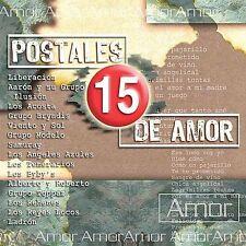 Various Artists : 15 Postales De Amor CD