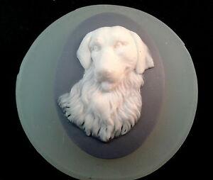 DOG CAMEO SILICONE MOLD sugarcraft cupcake resin fimo polymer clay mold plaster