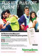 PUBLICITE ADVERTISING   1992    NORMADERM   cosmétiques