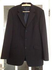 Navy Blue Suit Jacket Ciro Citterio Wool Blend 42 L