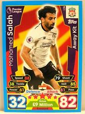 Match Attax 2017/18 Premier League - #179 Mohamed Salah - Away Kit