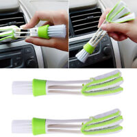 New Handy Car Air Conditioning Vent Blinds Brush Cleaning Kits Cleaner Duster