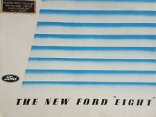 Ford Eight Sales Brochure - 1938