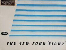 Ford huit sales brochure - 1938
