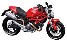 MAISTO 1:12 DUCATI Monster 696 RED MOTORCYCLE BIKE DIECAST MODEL TOY GIFT IN BOX
