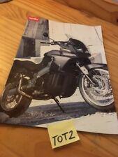 Aprilia ETV1000 Caponord ETV 1000 moto prospectus brochure prospekt publicité