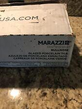 Marazzi Developed By Nature Calacatta  2 7/8 x11 15/16 x 5/16 Bull Nose (LOT 27)
