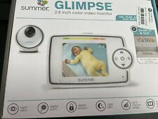 New listing Summer Glimpse 2.8 Inch Digital Color Video Baby Monitor New In Open Box