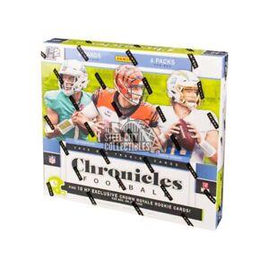 2020 Panini Chronicles Football Hobby Hybrid Box