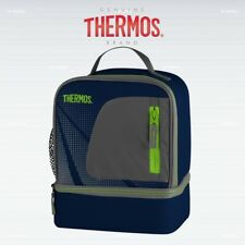 Thermos Radiance Dual Compartment Lunch Bag Navy Blue