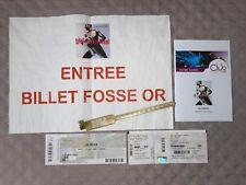 CALOGERO bracelet pass fosse OR concert liberté cherie tour 2018