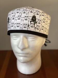 NUVO MEDSURG Disposable Bouffant Surgical Head Cap Pack Of 100 White UK