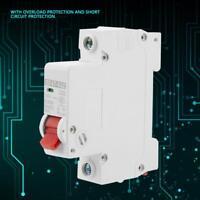 250V 10/16/20/32/40/63A DC Miniature Circuit Breaker 1P 1 Pole For Solar Energy