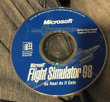 Microsoft Flight Simulator 98  (PC) - **DISC ONLY**