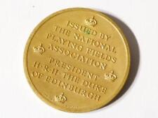 Medalla Conmemorativa Elizabeth II Coronación Vintage 1953 campos deportivos #MM22