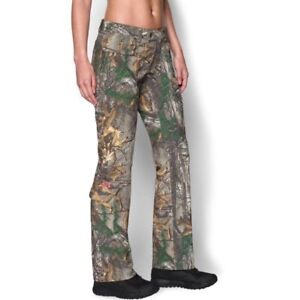 Under Armour Womens Scent Control Camo Field Pant (Realtree Xtra) Size 6 MSRP$90