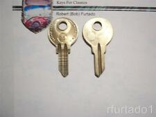 Key Blank for Vintage Porsche ignition//doors//trunk 1967 to 1969 KP1