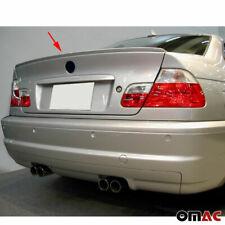 BMW 3 SERIES E46 Sedan 2000-2006 Rear Trunk Spoiler Top Wing Primed Unpainted