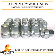 Set of 20 * 12x1.5mm 12x1.5 Alloy Steel Wheel Lug Nuts 60 Degree Tapered Bolts