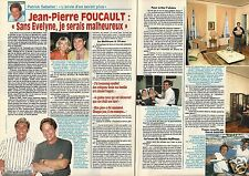 Coupure de presse Clipping 1994 Jean Pierre Foucault  (2 pages)