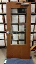 Commercial Fire Rated Interior Door With Glass No Frame