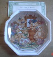 Franklin Mint Collectors Plate HATS OFF TO TEDDY!