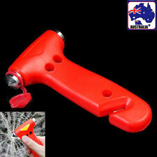 2in1 Car Emergency Safety Hammer Tool Glass Cutter Window Breaker VSHAM1375