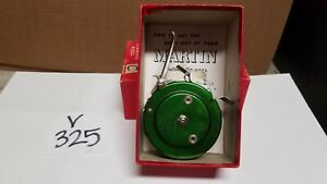 Vintage Automatic Mohawk Martin Fly Fishing Reel No. 48, Green, Great Condition