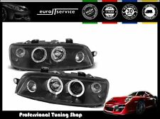 FARI ANTERIORI HEADLIGHTS LPFI02 FIAT PUNTO 2 1999 2000 2001 2002 2003 ANGEL EYE