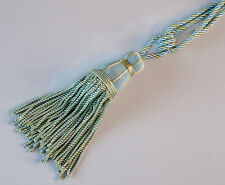 Sea Green Tassels With Lots Of Fringe for Curtains. Petite & Elegant