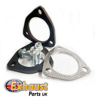 "63.5mm 2.5"" Mild Steel Set Exhaust Flange Repair Kit Section 3 Bolt Gasket"
