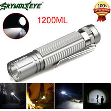 1200LM Sky Wolf Eye Waterproof Cree Q5 LED 14500 Zoomable Lamp Mini Flashlight
