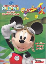 Disney Mickey Mouse Coloring Book ~ Are You Ready to Go?