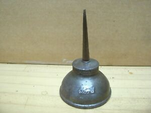 Vintage Ford Script Antique Car Tin Oiler Oil Squirt Can Tool Kit Model T A