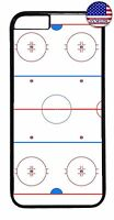 New Ice Hockey Rink Hard Rubber TPU Case Cover For Apple iPhone 7 / 7 plus