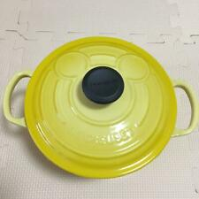 LE CRUSET Mickey 90th Signature Cocott Ronde 18 cm Yellow
