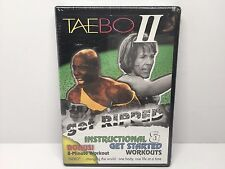 Billy Blanks TaeBo II: Get Ripped Instructional Get Started Work DVD NEW! Tae Bo