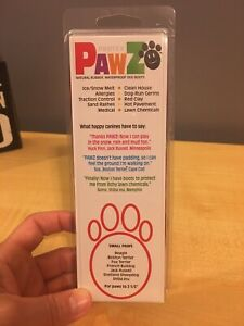 PawZ Protex Dog Boots Water-Proof Paws Disposable Reusable Small Red