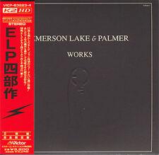 EMERSON LAKE & PALMER WORKS VOL.1 MINI LP 2 CD OBI