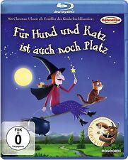 FÜR HUND UND KATZ IST AUCH NOCH PLATZ (Blu-ray Disc) NEU+OVP