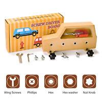 Montessori Toys for Toddlers Montessori Materials Screw Driver Board for Kids